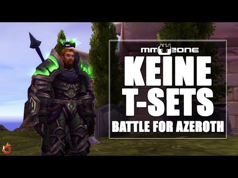 WoW Battle for Azeroth - Keine Tier-Sets mehr!
