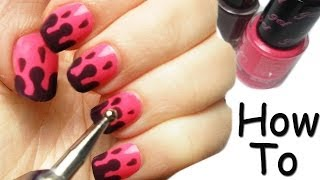 Dripping Nail Art Tutorial Facile/Veloce