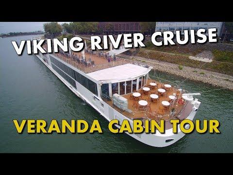 RIVER CRUISE SHIP CABIN TOUR - Viking Eir - Veranda Cabin 323