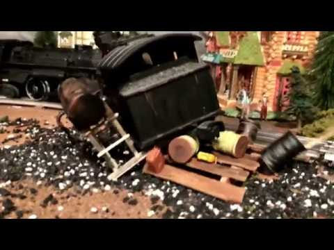 Lionel Model Train Crash: Nightmare Train Returns NT5