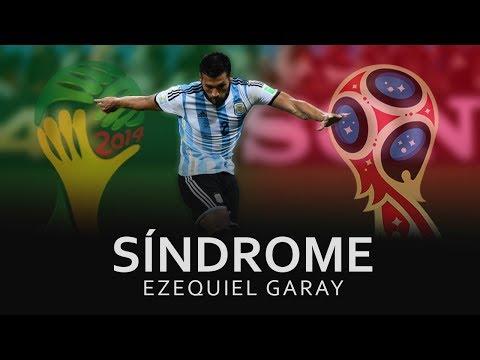 Sindrome: Ezequiel Garay. Estuvieron en Brasil 2014 y no tienen chances de ir a Rusia 2018