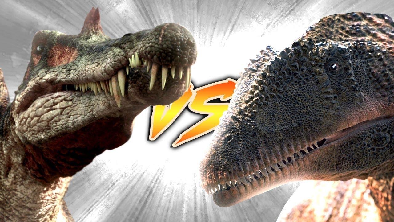 SPINOSAURUS VS CARCHARODONTOSAURUS [Who Would Win?] - YouTubeGiganotosaurus Vs Spinosaurus
