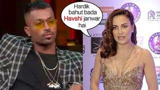 Finally Hardik Pandya's Girlfriend Eli Avram's ANGRY Response On Hardik's Koffe With Karan Episode