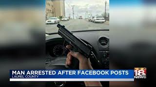 Man Arrested After Facebook Posts