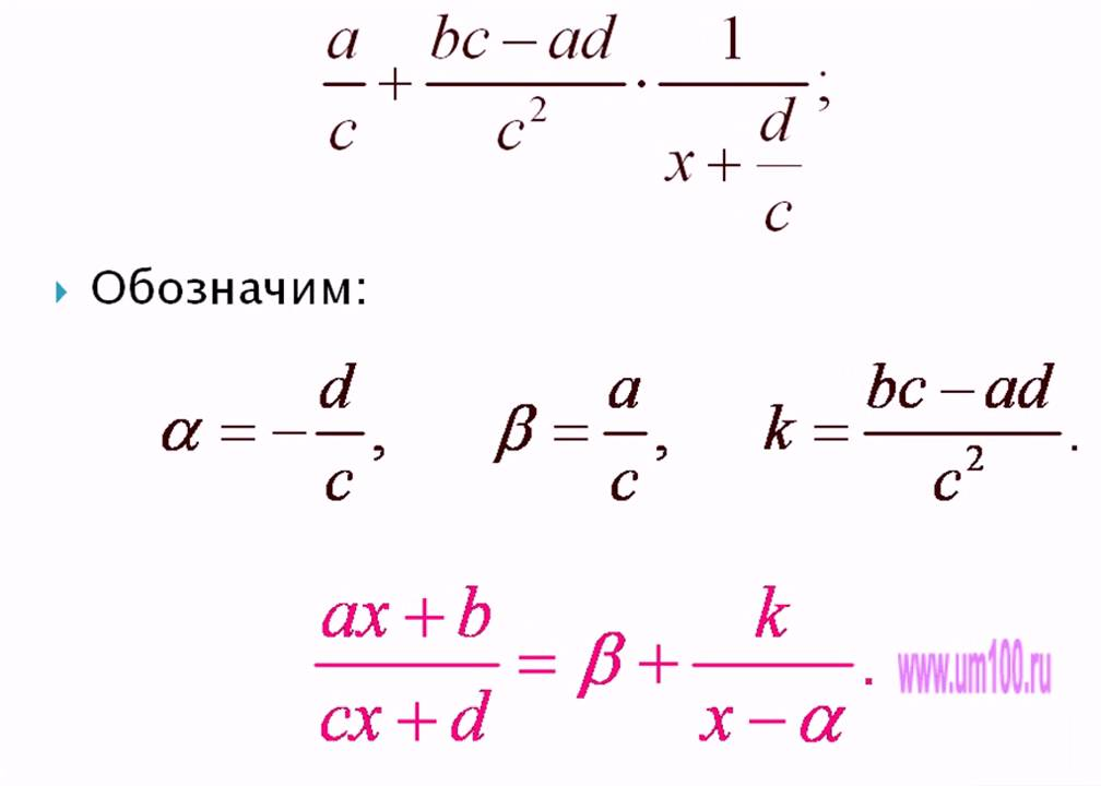 9 класс дробно-линейная функция и ее график презентация