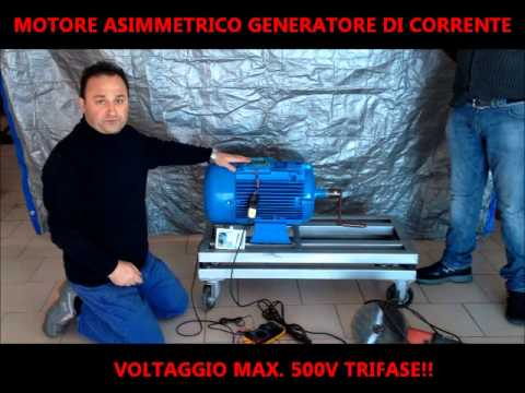 Motore Magnetico Generatore Eolico Fai Da Te Antonio Salerno