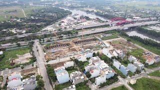 Flycam review tiến độ dự án DREAM HOME RIVERSIDE Quận 8 [12/2020]
