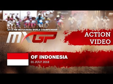 Cairoli, Herlings & Gajser battle MXGP Race 2 Start - MXGP of Indonesia