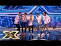 A sprinkling of magic from boyband Vibe 5 | The X Factor UK 2018