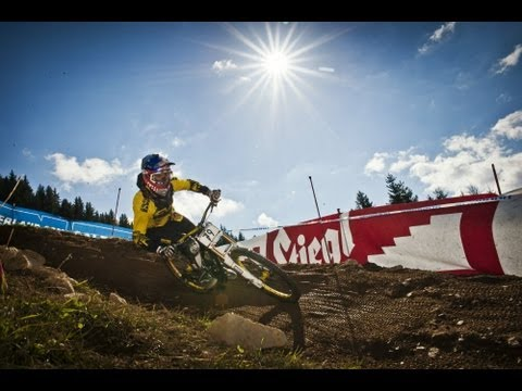 Mountain bike 4 cross competition - UCI World Cup 2013