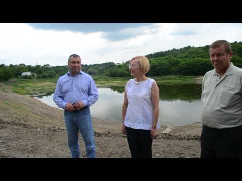 Inaugurarea lacului Ivancea, după lucrările de reconstrucție