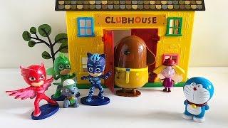Romeo blocca Duggee e prende Doraemon, Rocky dei Paw Patrol chiama i Pj Masks Super Pigiamini