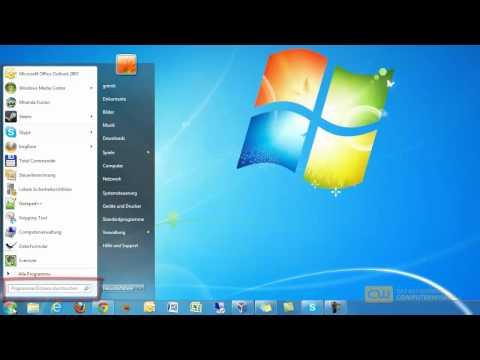 Optimieren Sie Die Suche Unter Windows 7 - TUTORIAL