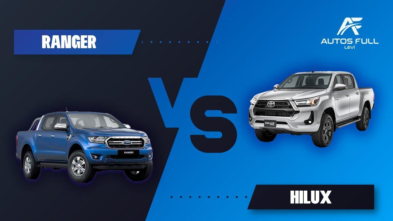 Ford Ranger VS Toyota Hilux 2021 | ¿Cuál deberías Comprar?