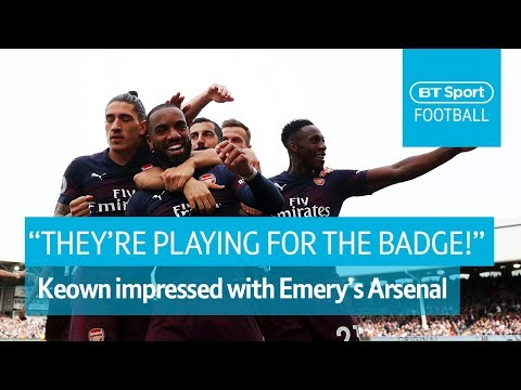 Keown: Arsenal players 'fighting for the badge.' | BT Sport