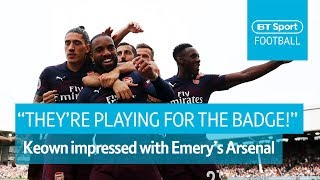 Keown: Arsenal players