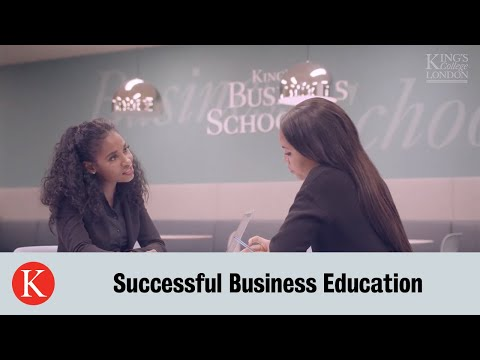 King's Business School | Successful Business Education
