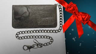 Top 10 Great Harley-Davidson Wallets Gift Ideas / Countdown To Christmas 2018!