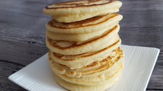 Extra Fluffy Pancakes Recipe (蓬松煎饼食谱)