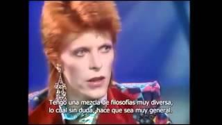 David Bowie entrevista 1973 (subtítulos en español)