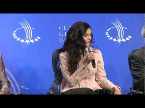 HH Princess Ameerah Al-Taweel keynote at Clinton Global Initiative Event (CGI) in New York