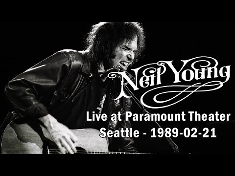 Neil Young - Live at Paramount Theater, Seattle - 1989-02-21