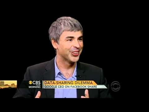 Google CEO on Facebook as potential rival