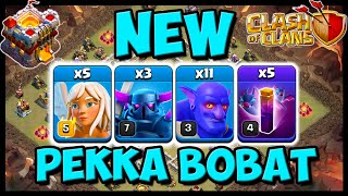 *POWERFUL NEW* PEKKA BOBAT TH11 ATTACK STRATEGY! CLASH OF CLANS | TH11