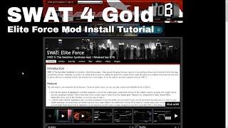 SWAT 4 Elite Force Mod Install Tutorial