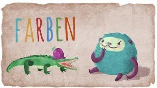 Farben lernen mit Flunkeblunk für Kinder