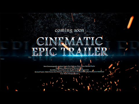 epic trailer after effects template free