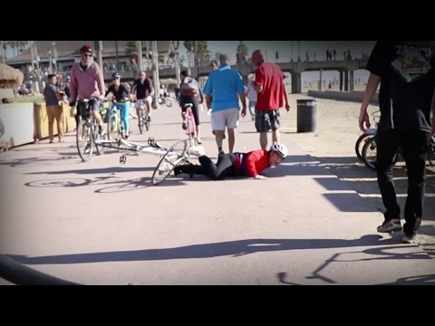 How Not To Ride A Bike - Huntington Beach