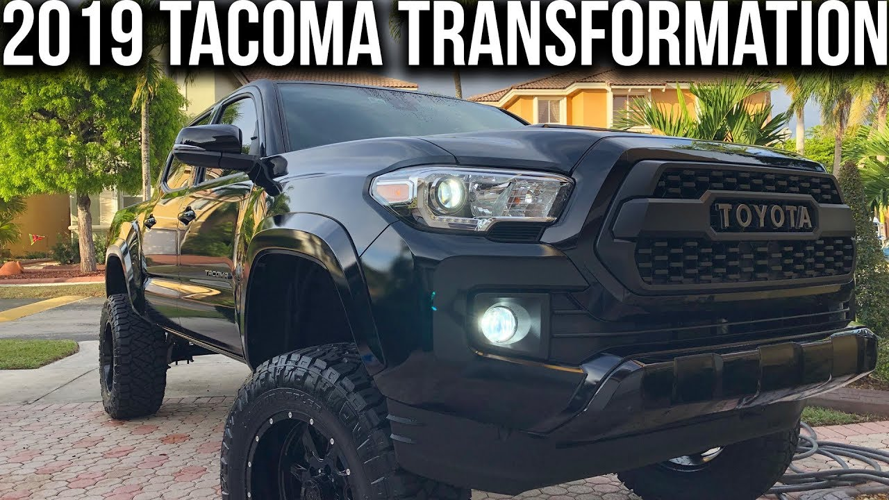 Toyota Tacoma Mods >> 2019 Toyota Tacoma Trd Transformation Best Tacoma Trd Mods Upgrades For The Price