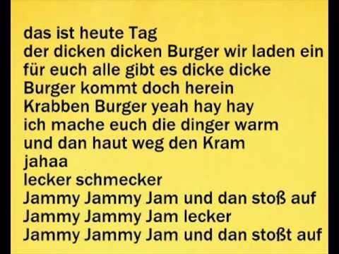 --- Spongebob Schwammkopf - Lecker Lecker Lyrics ---