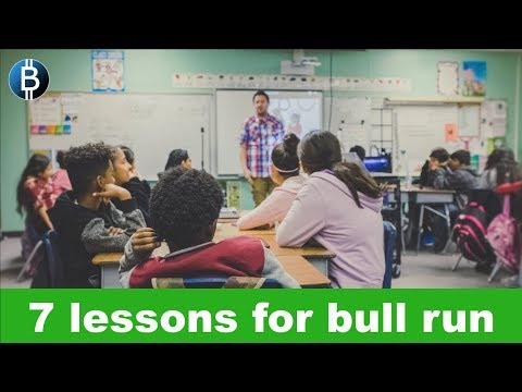 7 Important Lessons For Next Crypto Bull Run! (Crypto Investment Strategy 2019)