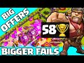 Clash of Clans ♦ Trophy DISASTER ♦ BIG Offers, BIGGER Fails in Clash ♦ CoC ♦