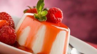 ПАНАКОТА - простой рецепт Как приготовить ванильную панакоту
