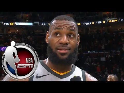 LeBron James on ridiculous block and buzzer-beater for Cavaliers over Timberwolves | ESPN