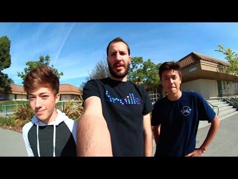 NEVER before SEEN Braille Skateboarding Video