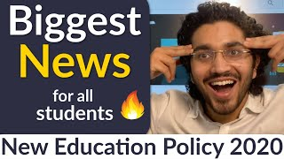 Biggest News:Full syllabus of all classes changed | New Education Policy 2020 | New Education System
