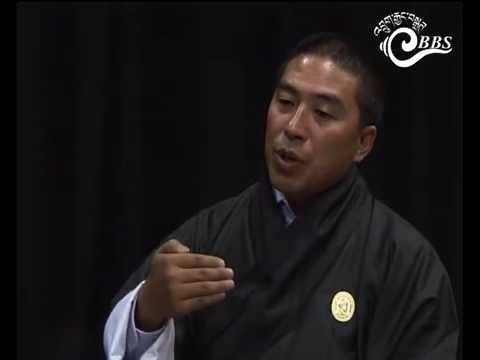 Nang Ghi Tam with Karma Tshering, CEO, BOIC