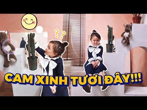 """Cùng Cam Làm điệu , Biến Hoá Thành """"Công Chúa"""" Vlog 221"""