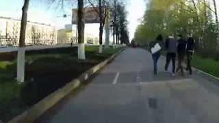 Велодорожки и пешеходы
