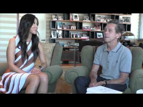 Christie Hsiao interview with Oscar winning producer Brian Grazer on China CCTV TV