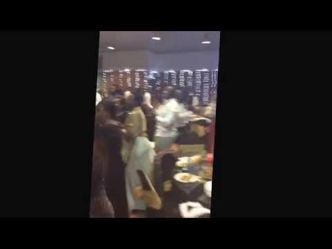"""""""Happy"""" by Pharrell Williams at Strathmore University's Senior Dinner 2014"""