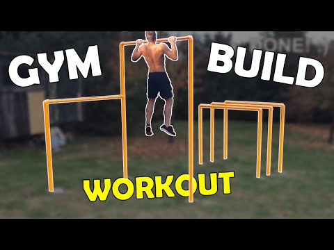 How To Build an Outdoor Gym / Calisthenics Park | DIY