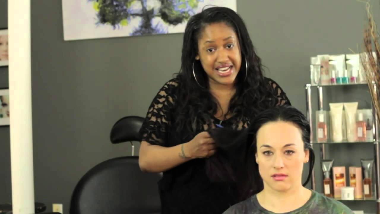 How To Care For Straightened Highlighted Hair Youtube