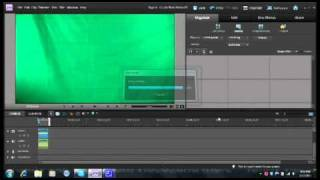 How to use a green screen in adobe premiere elements 9
