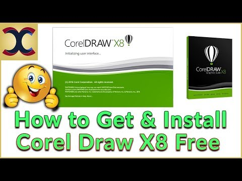 how to use corel draw x8