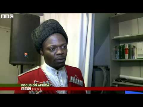 African student Cossack troupe proves big hit in Russia 2